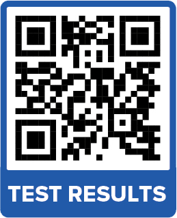 Test results qr